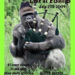 Whiskey Galore and 800lb Gorilla at Fishlips – July 25, 2009