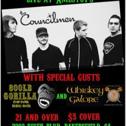 Amestoy's on the Hill w/ 800lb Gorilla and The Councilmen